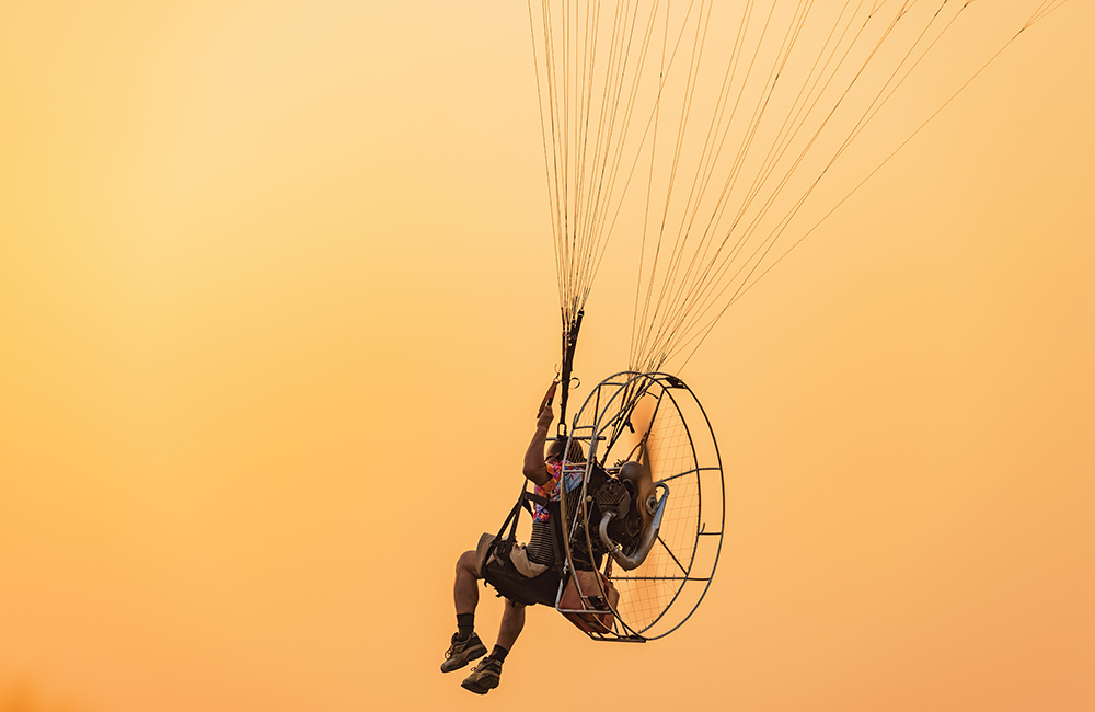 Paramotoring | Adventure Sports in Hyderabad