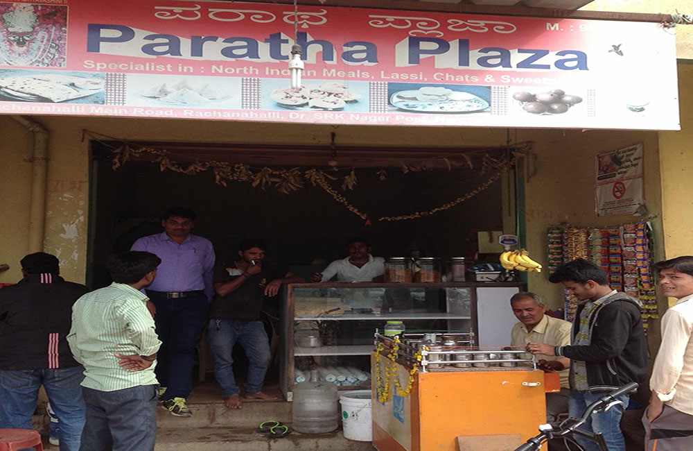 Paratha Plaza | Among the Best Street Food Places in Bangalore