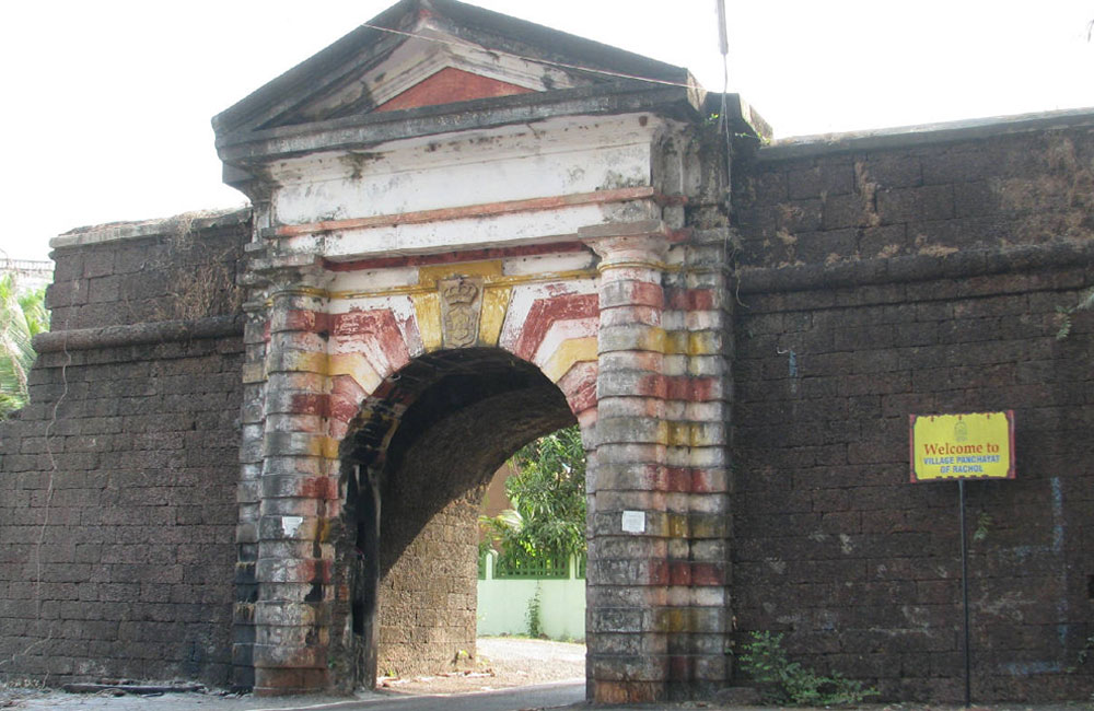 Rachol Seminary Arch | Among the Best Haunted Places in Goa