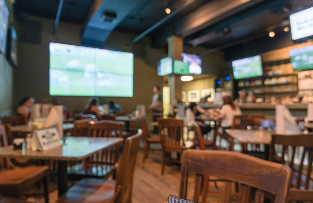Sky Blue Sports Bar | Best Pubs in Indore
