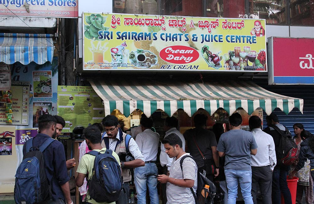 Sri Sairam's Chats and Juice Centre | Among the Best Street Food Places in Bangalore
