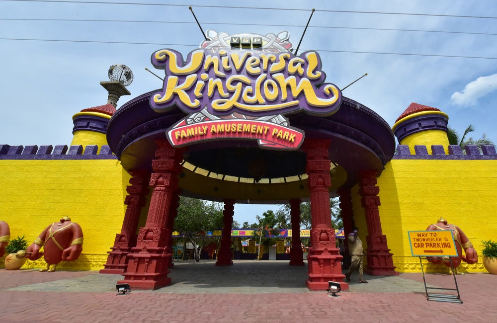 VGP Universal Kingdom | Among the Best Amusement/Theme Parks in Chennai