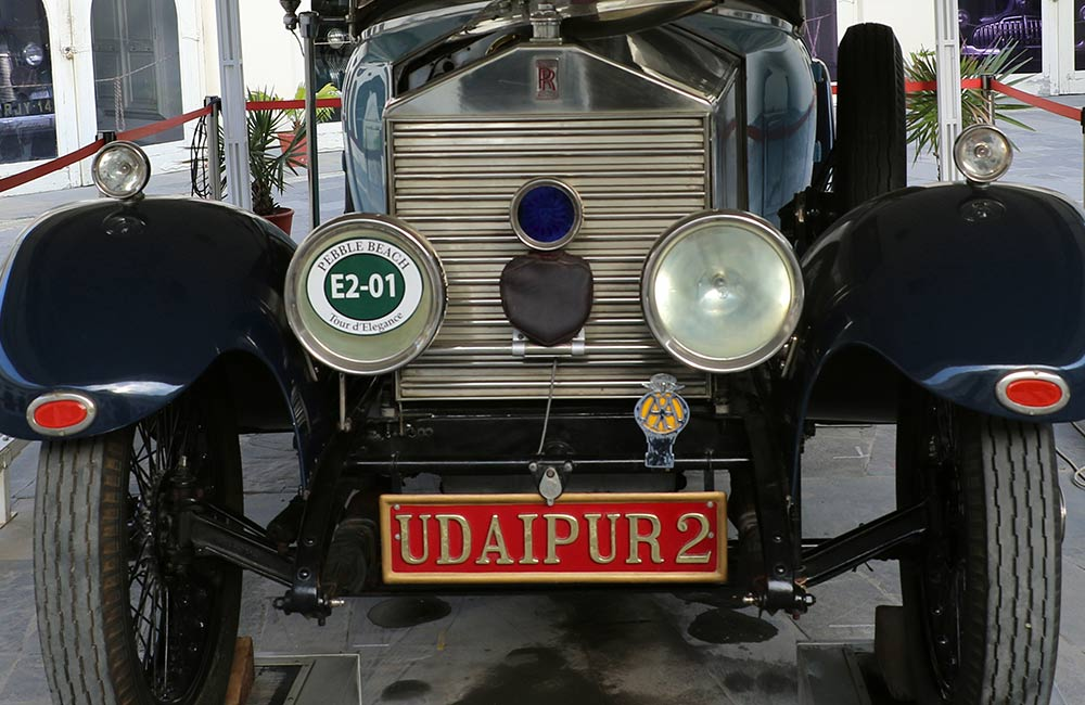 Offbeat Places to Visit in Udaipur: Vintage Car Museum