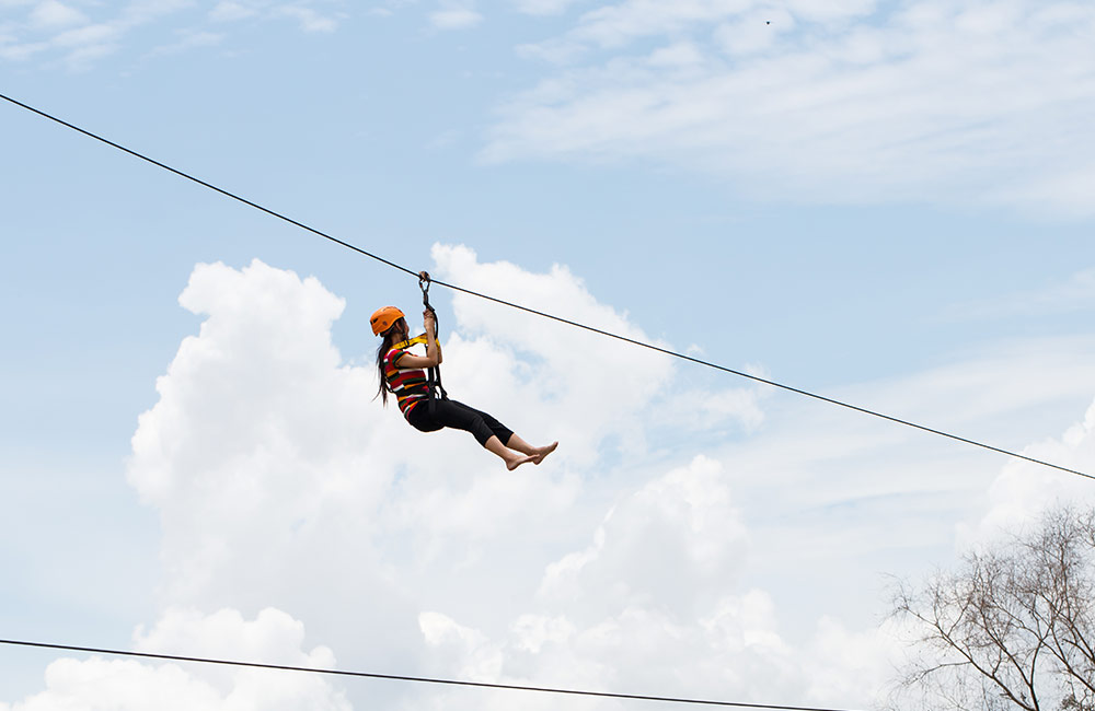 Zip Lining | Adventure Sports in Hyderabad