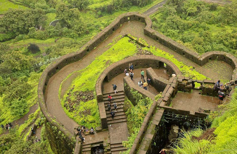 Lohagad Fort | Forts near Pune within 100 km