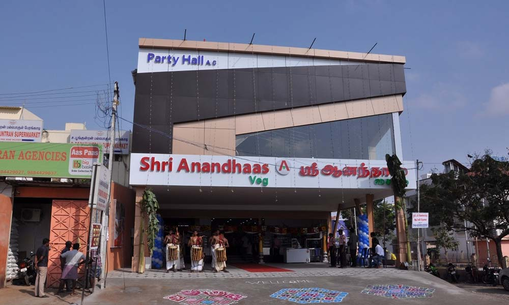 Shree Anandhaas | Among the Best Vegetarian Restaurants in Coimbatore
