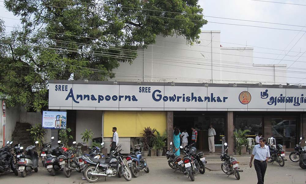 Sree Annapoorna | Among the Best Vegetarian Restaurants in Coimbatore