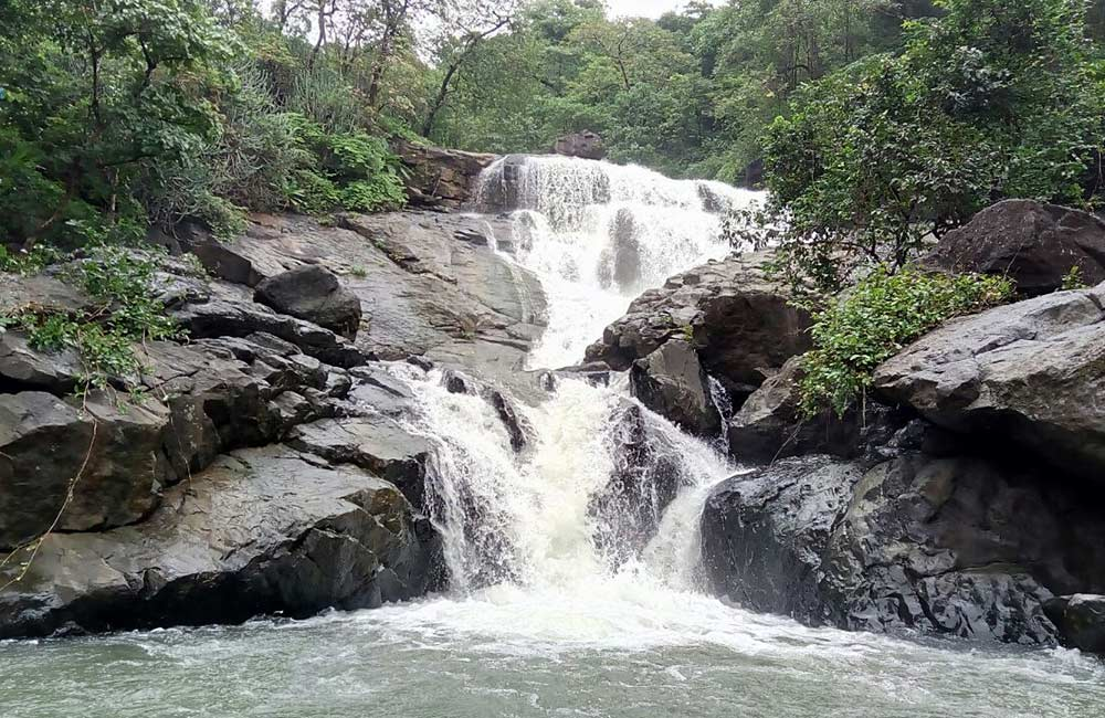 Chinchoti Waterfall | waterfall in navi mumbai