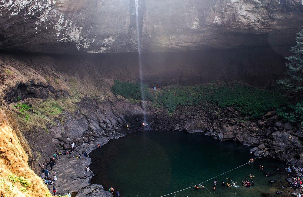 Devkund Waterfalls, Bhira   Among the Best Waterfalls near Mumbai within 200 km