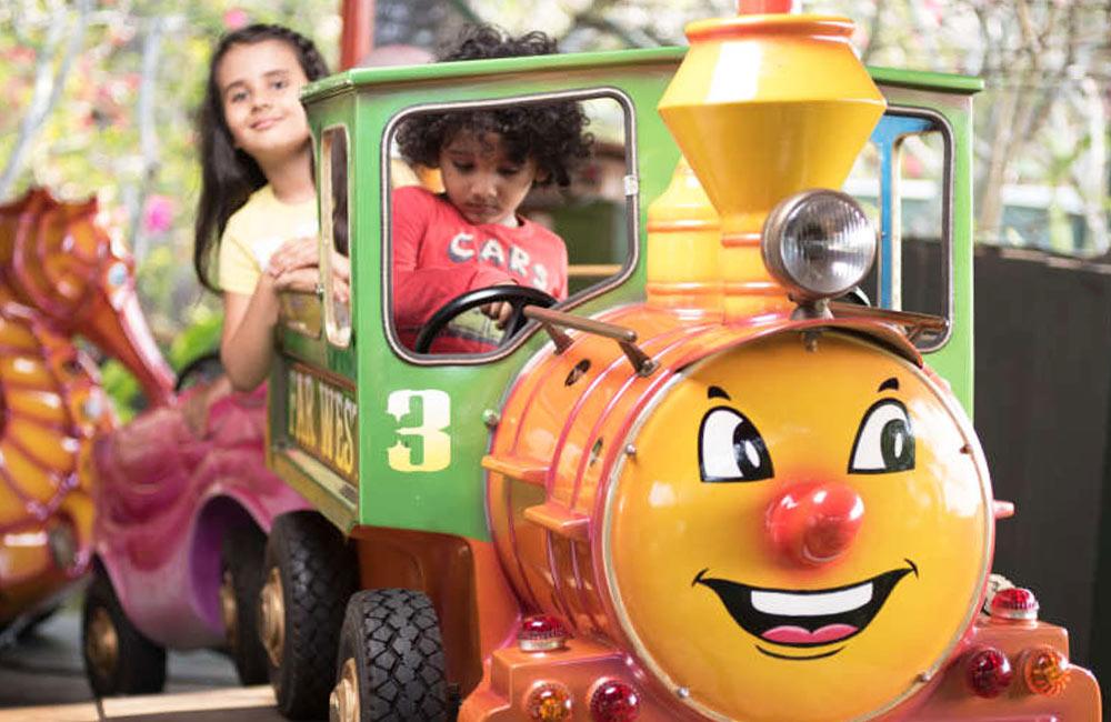 Kids Ridesat Wonderla Amusement Park, Bangalore