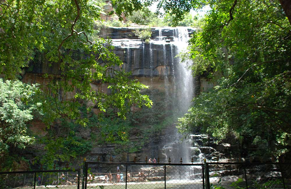 Mallela Theertham Water Falls distance from Chennai