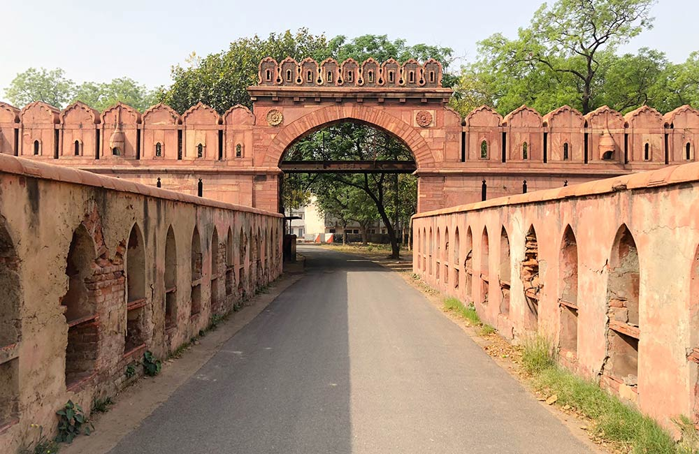 Salimgarh Fort | Famous Forts in Delhi