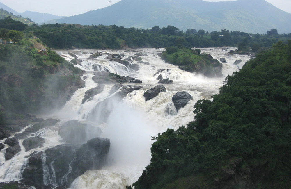 Shivanasamudra Waterfalls near Chennai within 500 km