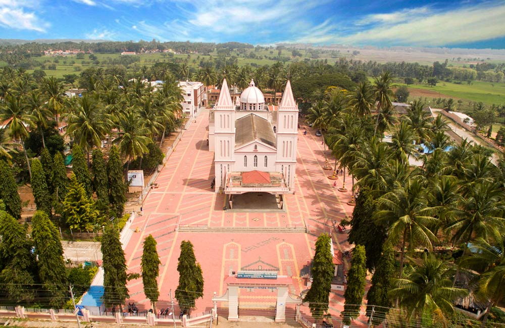 St. Anthony's Shrine | churches in mysore mysuru karnataka