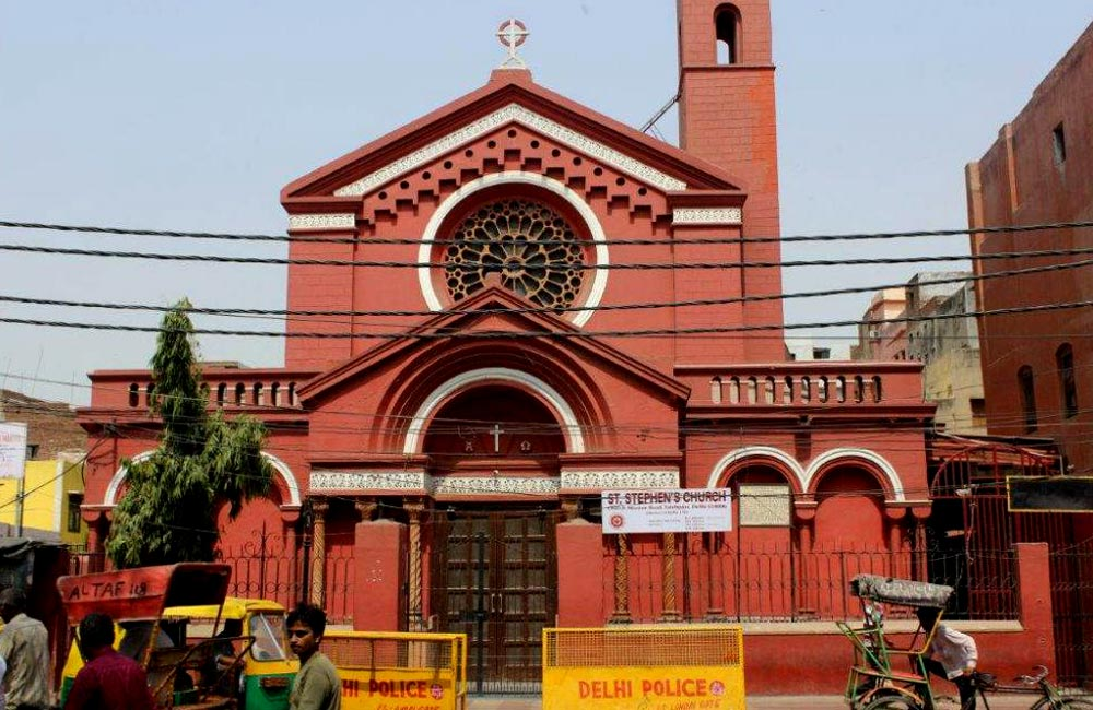 St. Stephen's Church | Churches near Chandni Chowk Metro Station, New Delhi