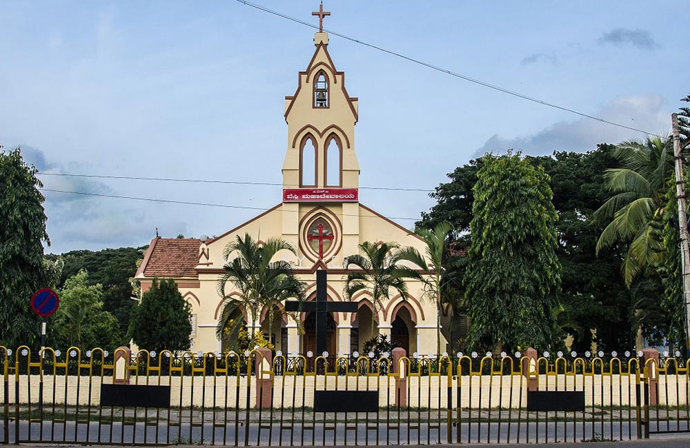 Wesley Cathedral | mysore church timings