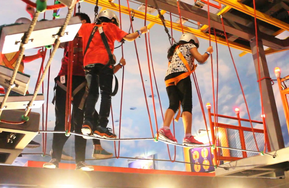 Kidzania Theme Park in Noida