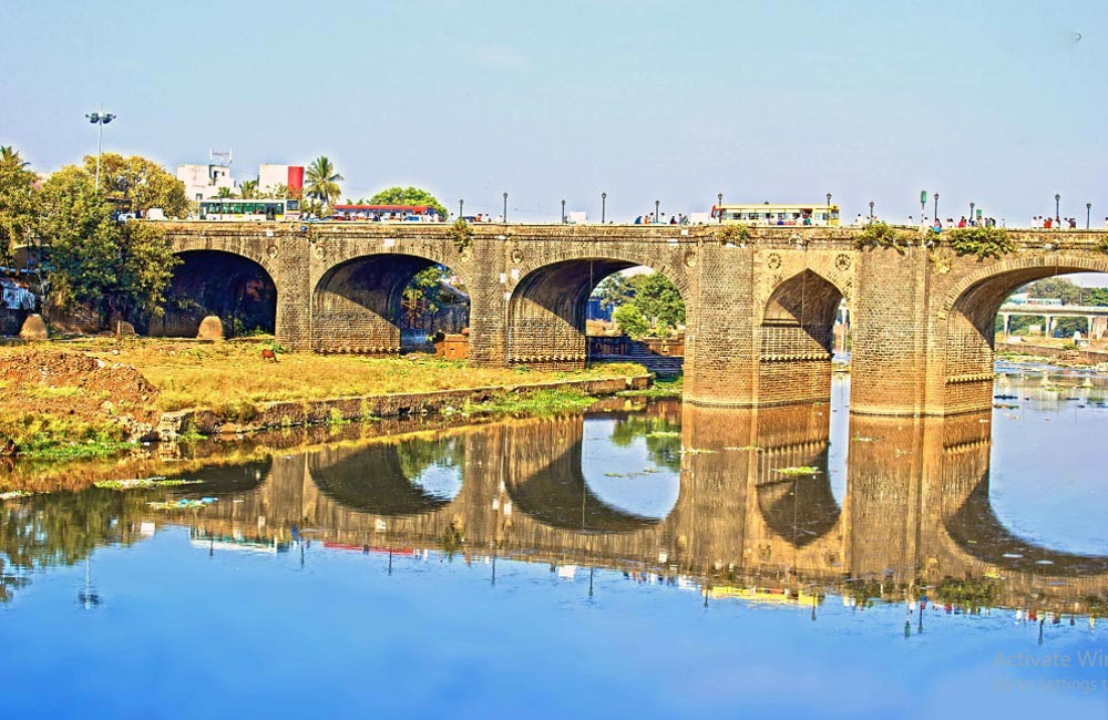 Shivaji Bridge | historical spot in pune