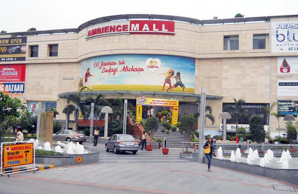 Best Mall in Delhi-South | Ambience Mall