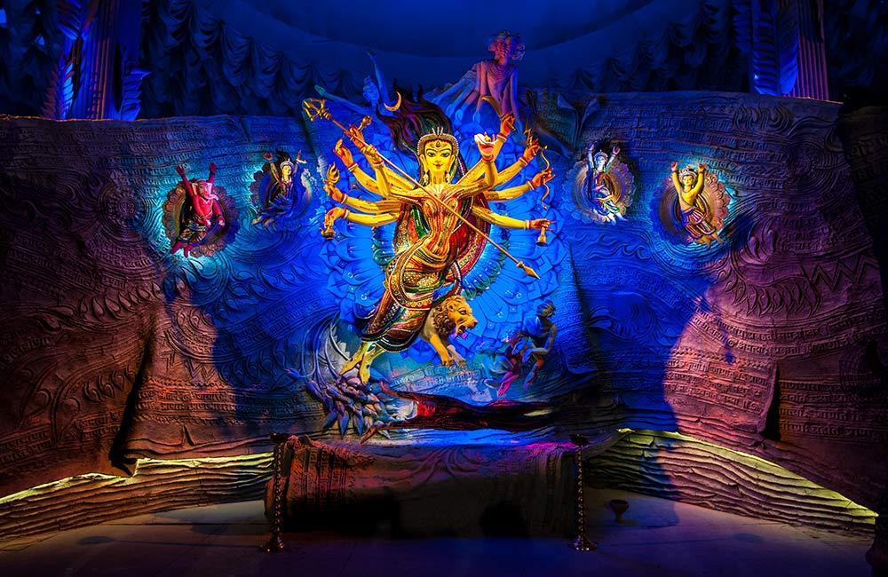 Durga Puja in Varanasi