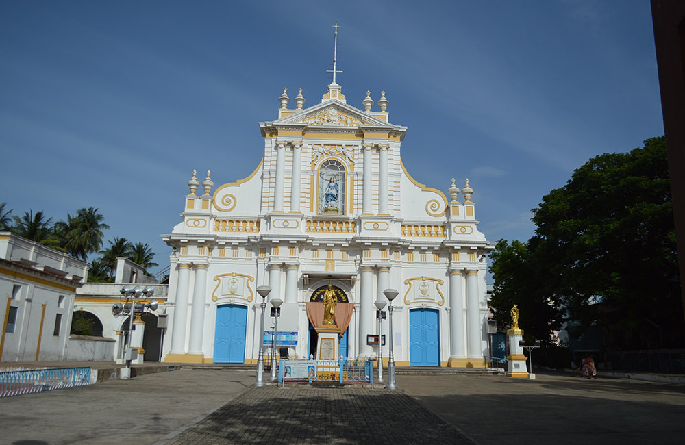 Immaculate Conception Cathedral | Famouse churches in pondicherry