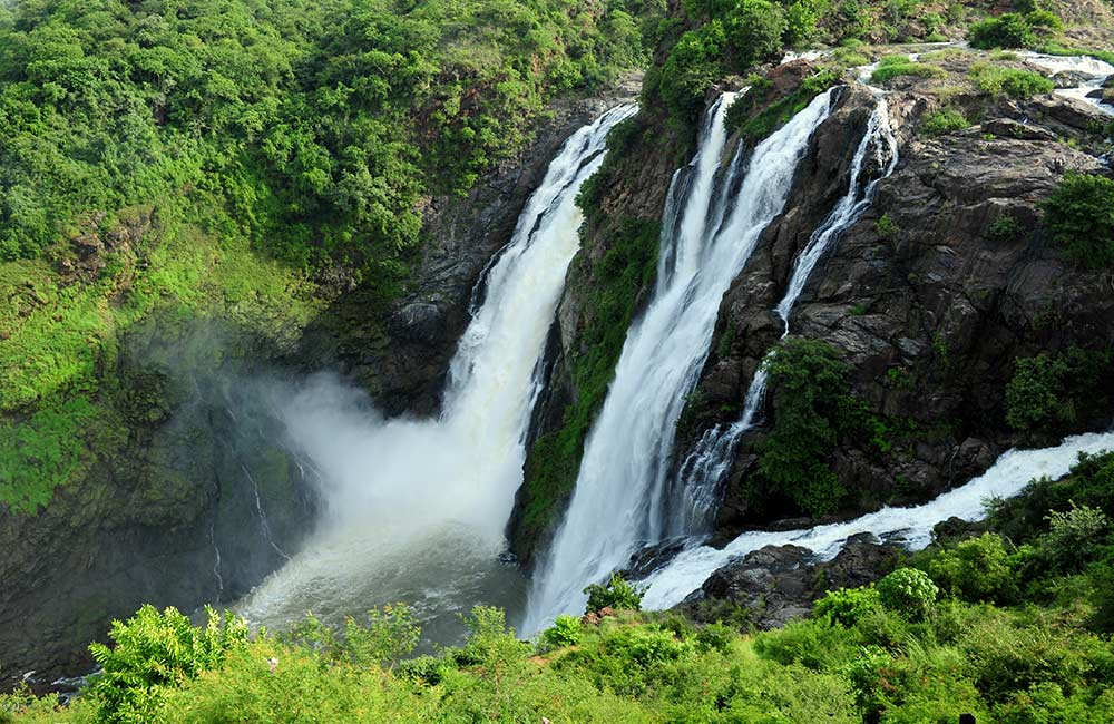 Shivanasamudra Waterfalls | fun places for team outings