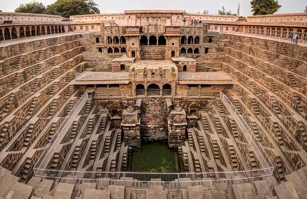 Abhaneri Step Well | Historical Places near Jaipur