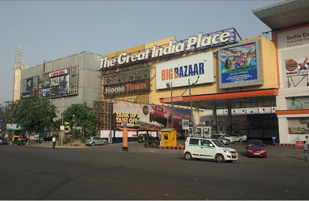 The Great India Place (GIP) – Noida | Top 14 Malls in India