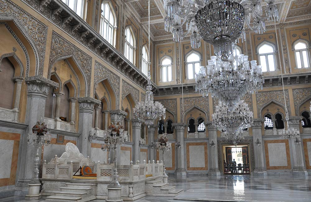 Chowmahalla Palace | Popular Historical Places in Hyderabad