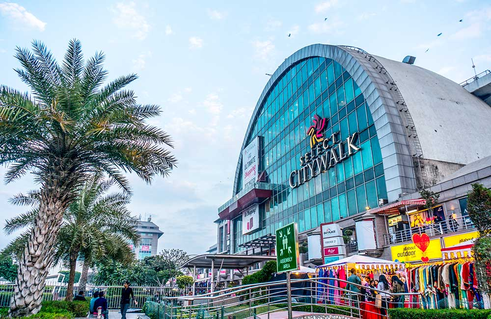 Biggest Shopping Mall in Delhi | Select City Walk