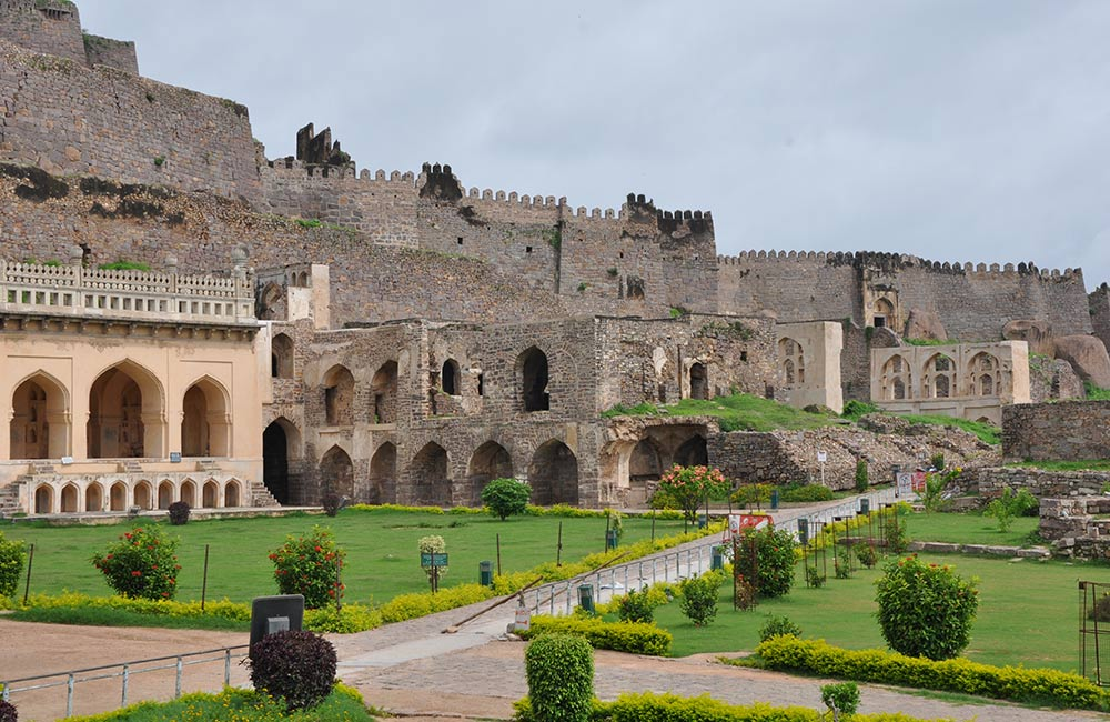 Golkonda Fort, Hyderabad
