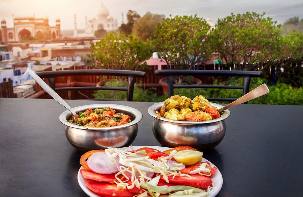 Popular Rooftop Restaurants in Agra