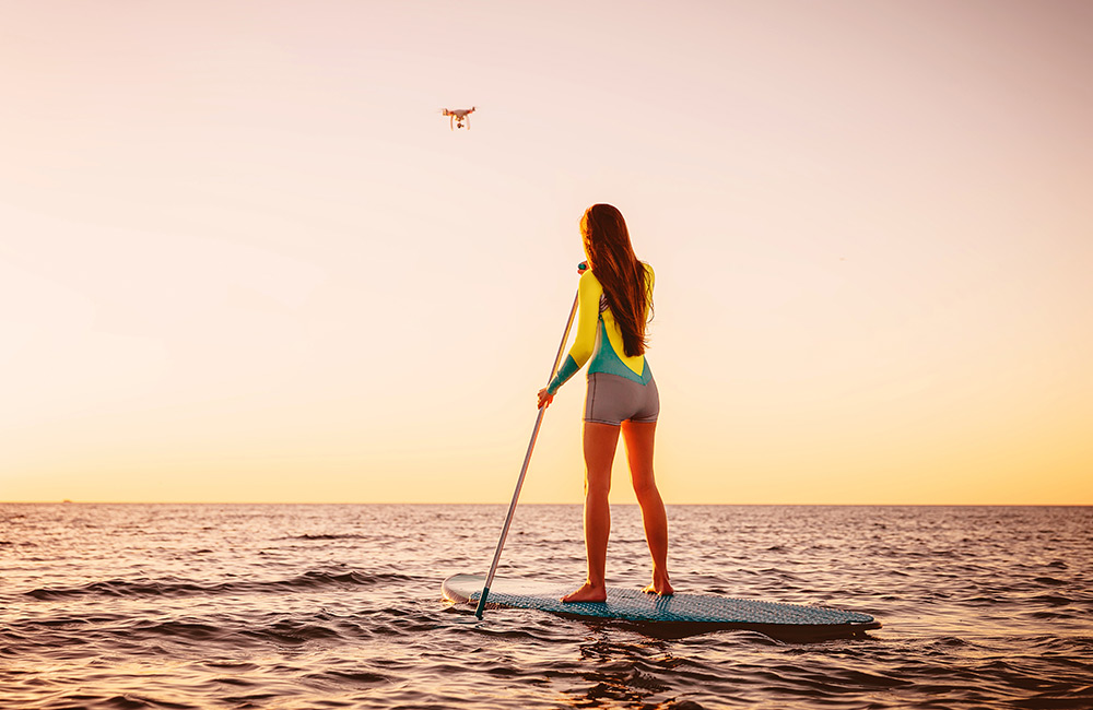 Paddleboarding in Goa