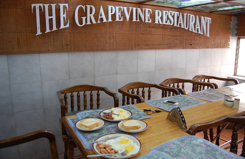 The Grapevine | Among The Best Non-Veg Restaurants in Mahabaleshwar
