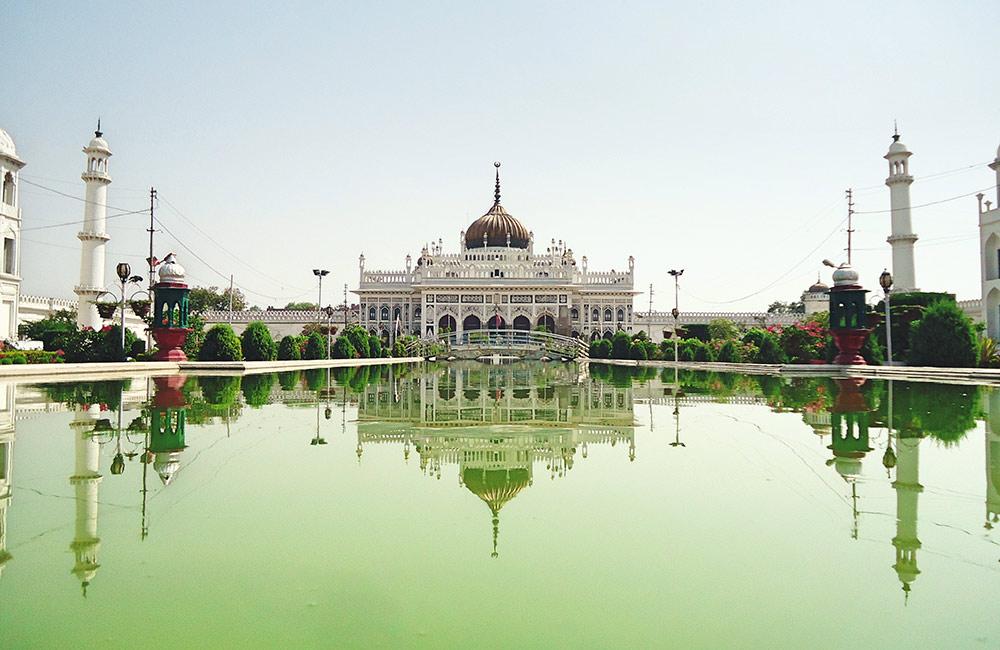 Visit the picturesque Chota Imambara