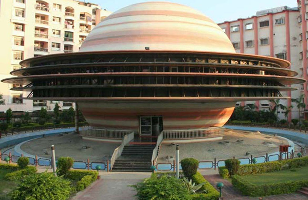 Learn about celestial objects and planets at Indira Gandhi Planetarium