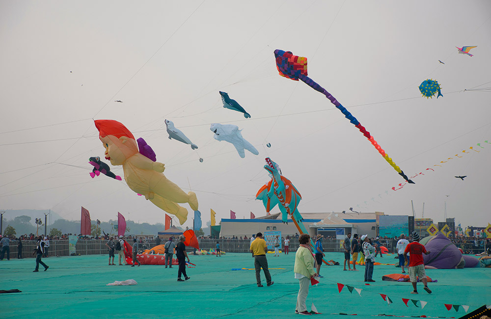 Ahmedabad Kite Festival | Long Weekend 2019