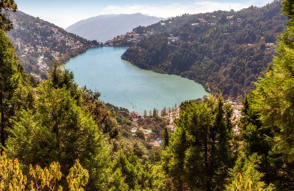 Bird's Eye View of Naini Lake | Long Weekend 2019