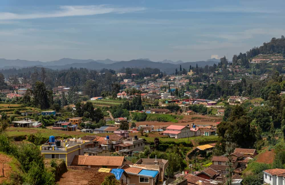 Panoramic View of Ooty Town | Long Weekend 2019