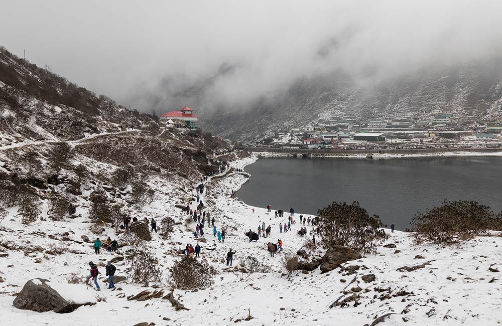 Gangtok,Winter destinations in India
