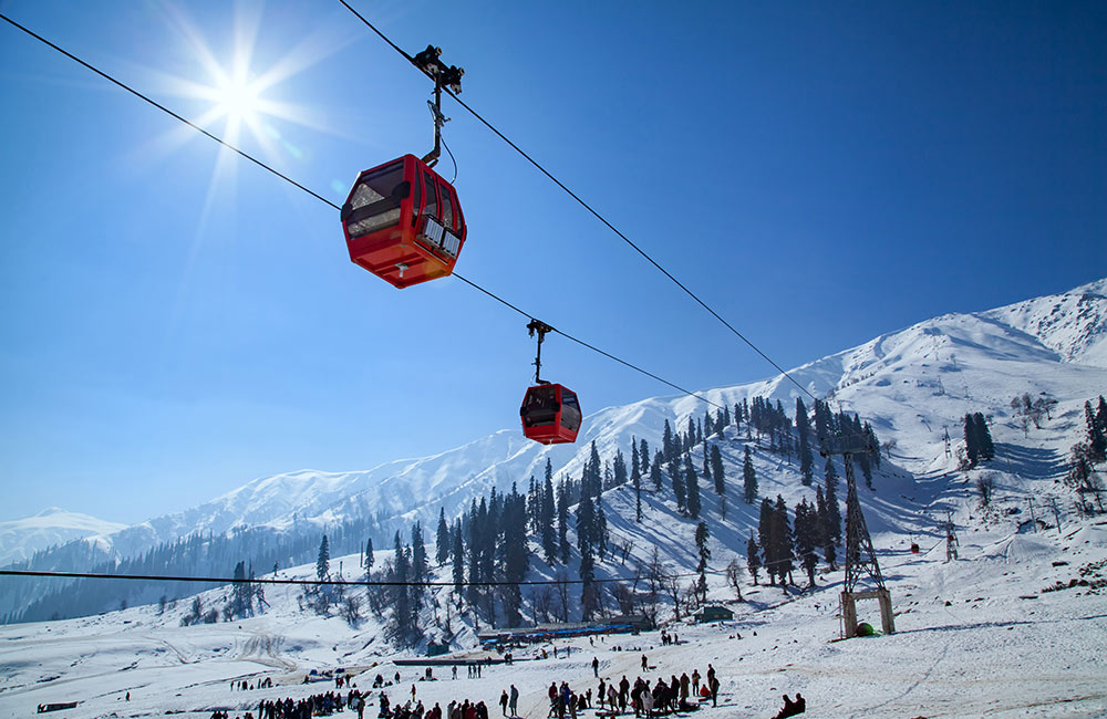 Gulmarg,Winter destinations in India