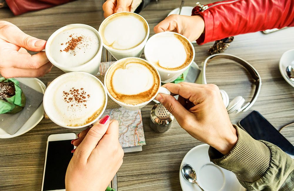 Enjoy Coffee Time | #11 of 11 Things to do in Delhi on weekends