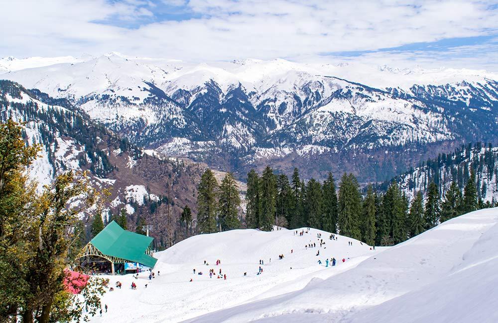 Manali,Winter destinations in India