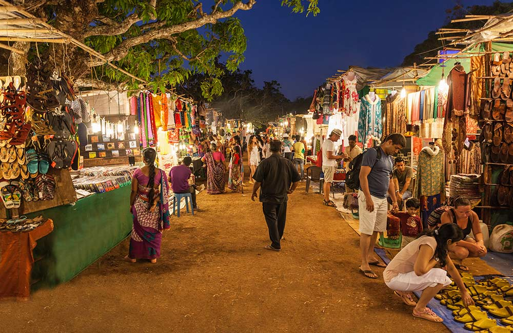 Arpora Night Market | Places to Visit in Goa at Night