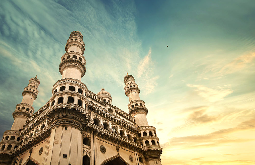 Charminar | #8 of 11 Best Places to visit in Hyderabad at Night