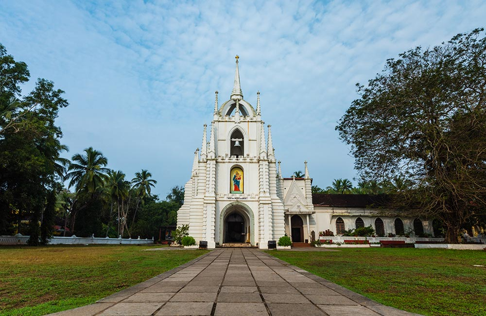 The Church of Mae De Deus  | #12 of 28 Places to Visit in North Goa