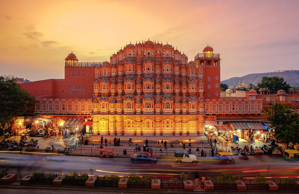Hawa Mahal | #1 of 7 Best Places To Visit In Jaipur At Night