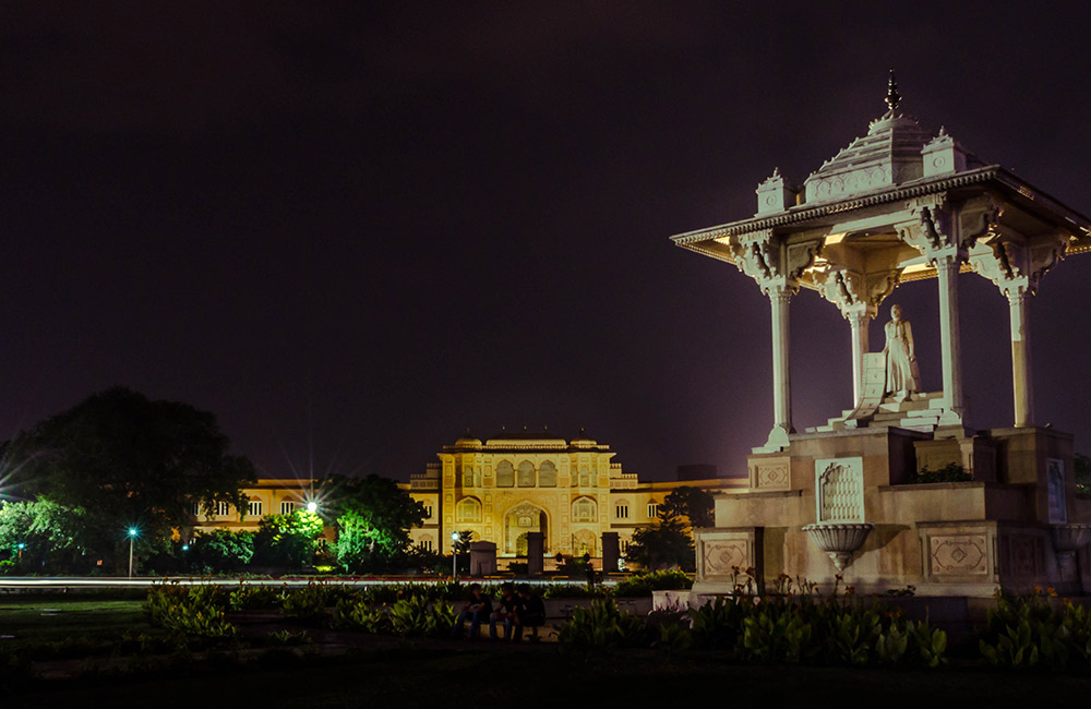 The Statue Circle | #2 of 7 Best Places To Visit In Jaipur At Night