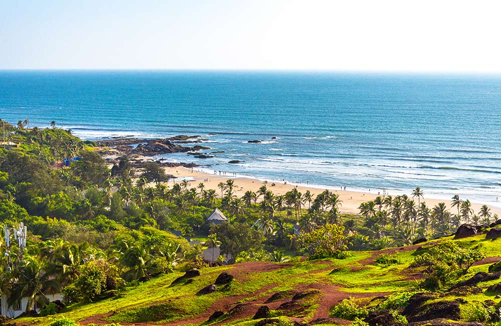 Vagator Beach | #2 of 28 Places to Visit in North Goa