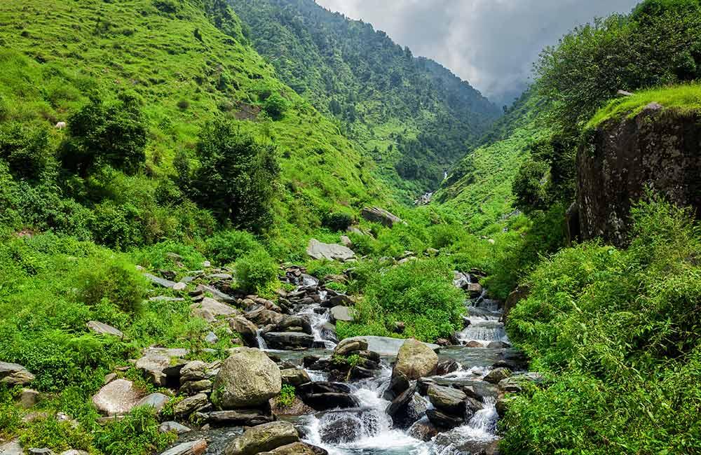 Bhagsu Waterfall, Kangra